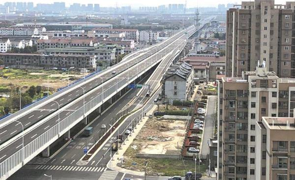 Wuxi opens new elevated highway.jpg